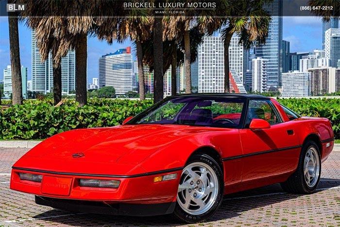 1990 Corvette ZR12