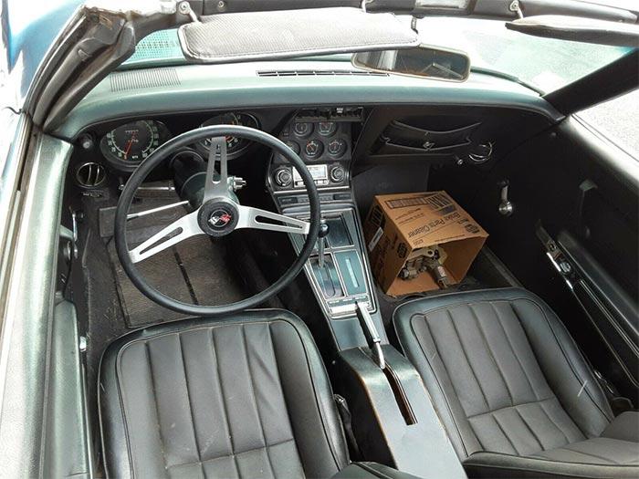 Corvettes on eBay: 76K Mile 1971 Corvette Convertible for $16,500