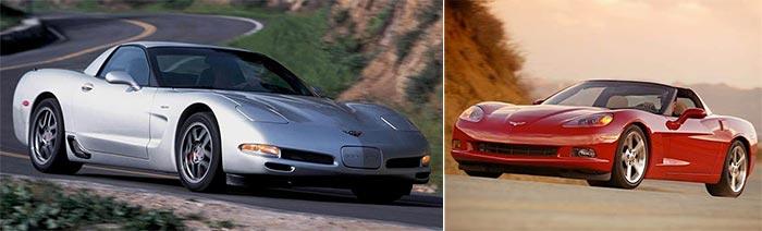 C5 and C6 Corvettes