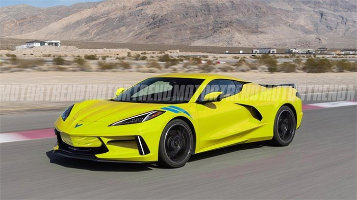 MotorTrend's C8 E-Ray Rendering