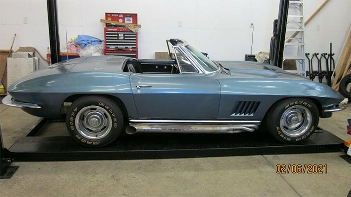 Corvettes on eBay: NOM 1967 Corvette Barn Find