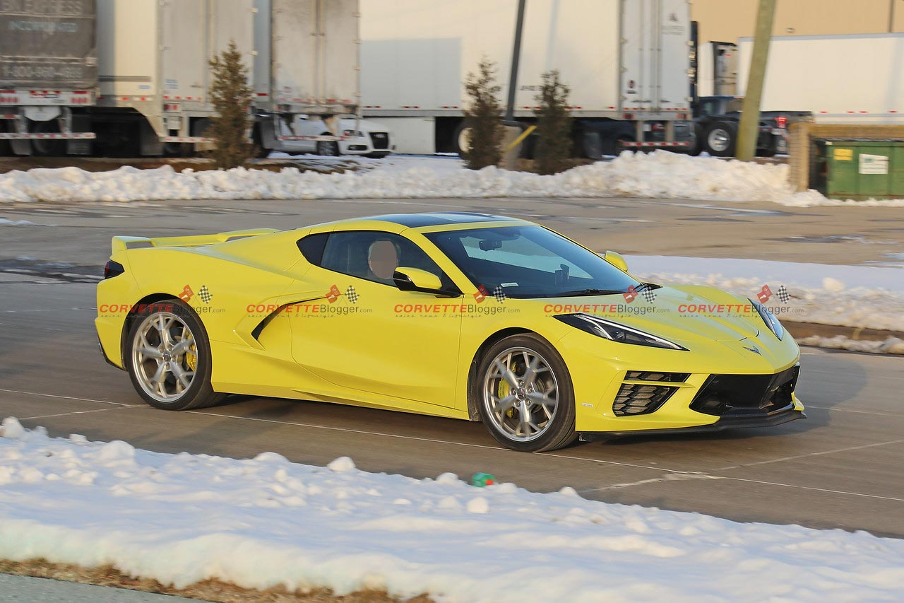 [SPIED] Right Hand Drive C8 Corvette Finally Caught Testing in Detroit
