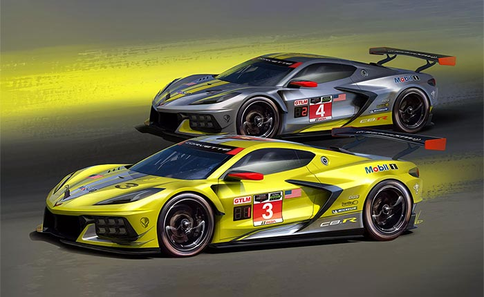 Chevy Should Offer a GTLM Championship C8 Special Edition Corvette for 2022