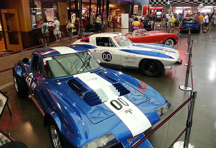 Three Corvettes with a connection to Dave MacDonald