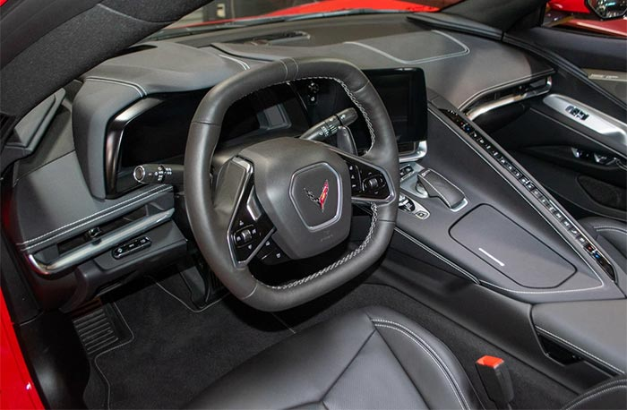 Corvettes for Sale: Torch Red 2020 Corvette Stingray Convertible Offered on Bring A Trailer