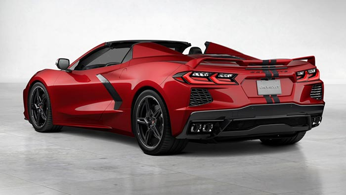 Win a Red Mist 2021 Corvette Convertible and Racing Prize Package
