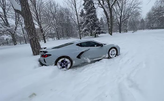 Winter Storm Disrupts the Reopening Plans at the Corvette Assembly Plant
