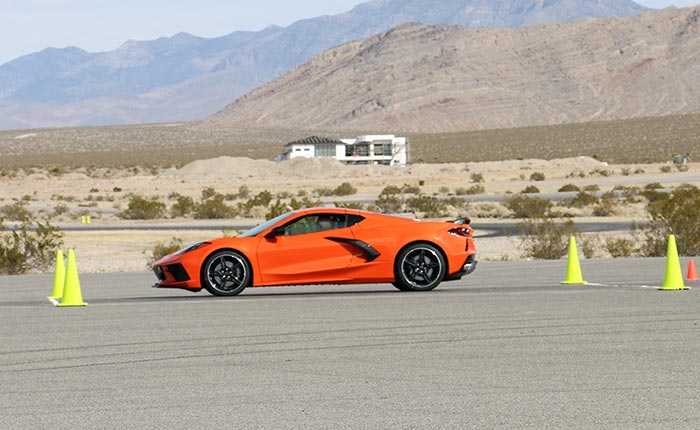 2020 Corvette in Sebring Orange