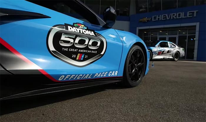 [VIDEO] Check out the Corvette Pace Car and Other Behind the Scenes Action from the Daytona 500