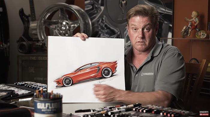Chip Foose Redesign the C8 Corvette