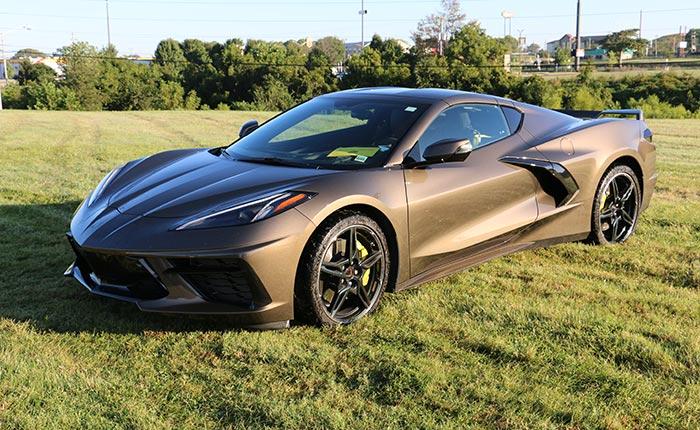 2020 Corvette in Zeus Bronze