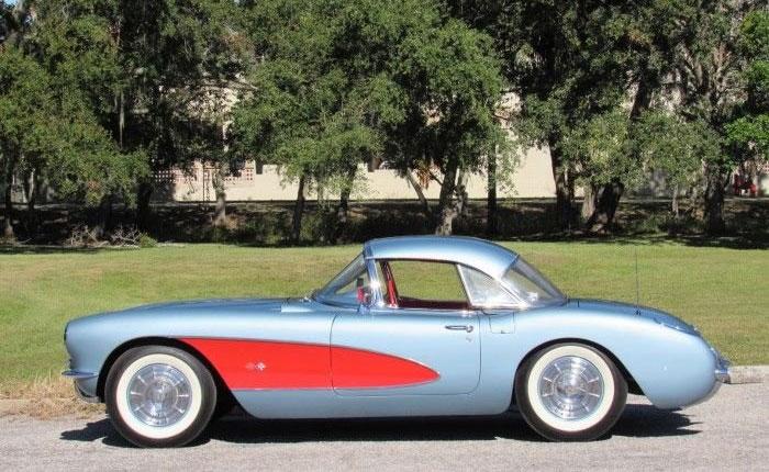 Corvettes for Sale: Super Rare 1957 Headed to Carlisle's Lakeland Winter Auction