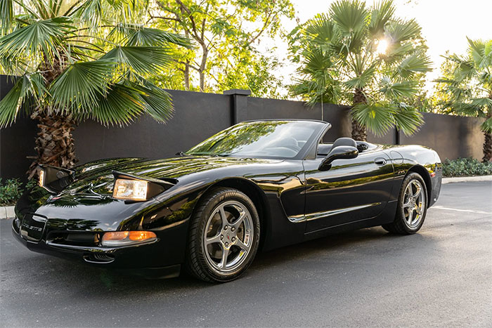 Corvettes for Sale: 2002 Corvette Convertible 6-Speed with 320 Original Miles