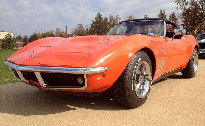 1969 Corvette in Monaco Orange
