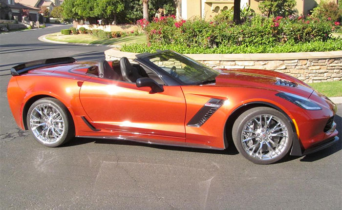 2016 Corvette Z06 in Daytona Sunrise Orange
