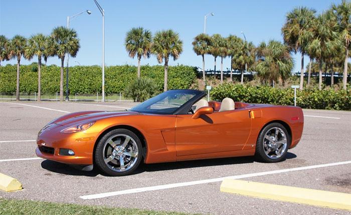 2009 Corvette Convertible in Atomic Orange