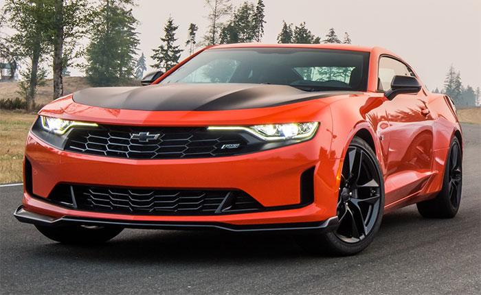 2019 Camaro in Crush Orange