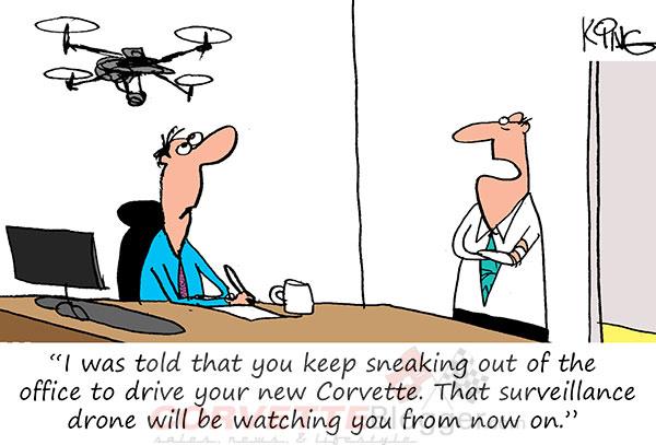 Saturday Morning Corvette Comic: Long Lunch Breaks