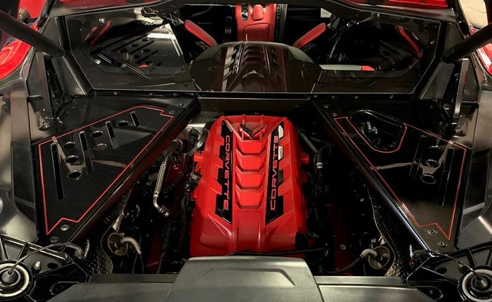 [VIDEO] American Hydrocarbon Introduces New Engine Appearance Side Covers for the C8 Corvette