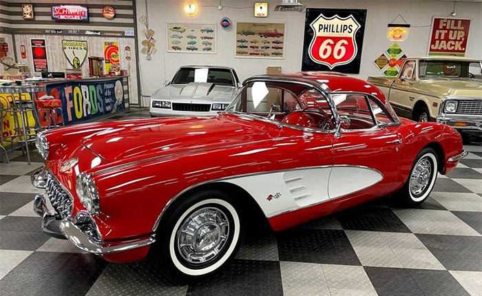 Faith Hill's 1960 Corvette Offered for Sale This Weekend at the GAA Auction in Greensboro