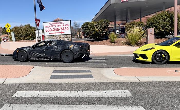[SPIED] C8 Corvette Z06 is Testing in Arizona This Week