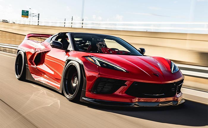 [PICS] Pandem Widebody Kit Shows Us the Way to Improve the C8 Corvette