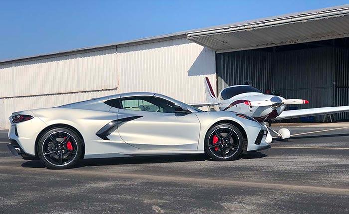 Adam's #007 Silver Flare Corvette
