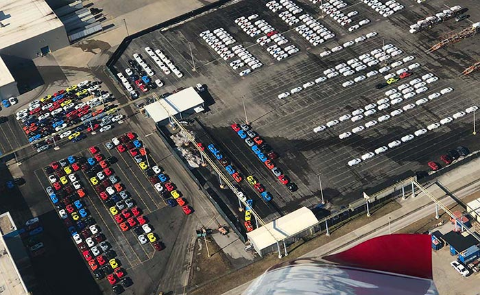[GALLERY] Flyover Gives Us a Different Perspective of the Corvette Assembly Plant