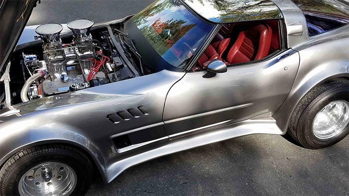 Wicked 1981 Corvette with 427 V8 Headed to Mecum's Glendale Auction
