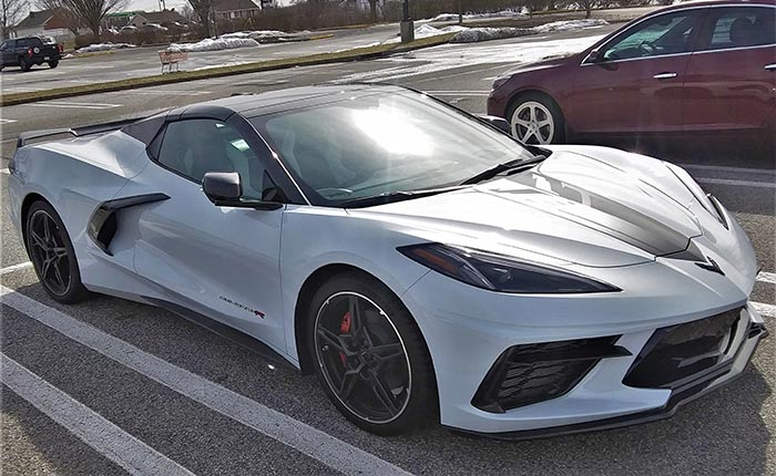 [PICS] Stingray R Graphics Package Spotted on a C8 Corvette Convertible