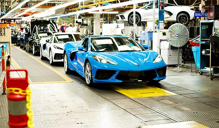 RUMOR: Final Week of 2021 Corvette Production Is Said to Be July 19th