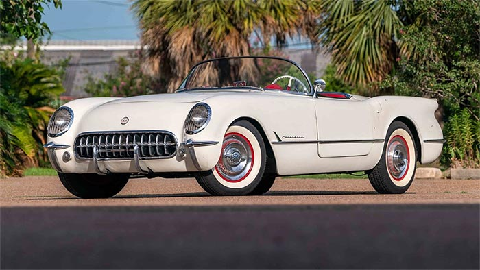 1953 Corvette VIN 299 Heads to Mecum Glendale with No Reserve