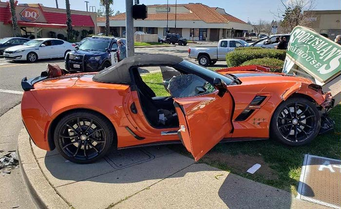 [ACCIDENT] Driver of 2019 Corvette Grand Sport Charged In DUI Crash