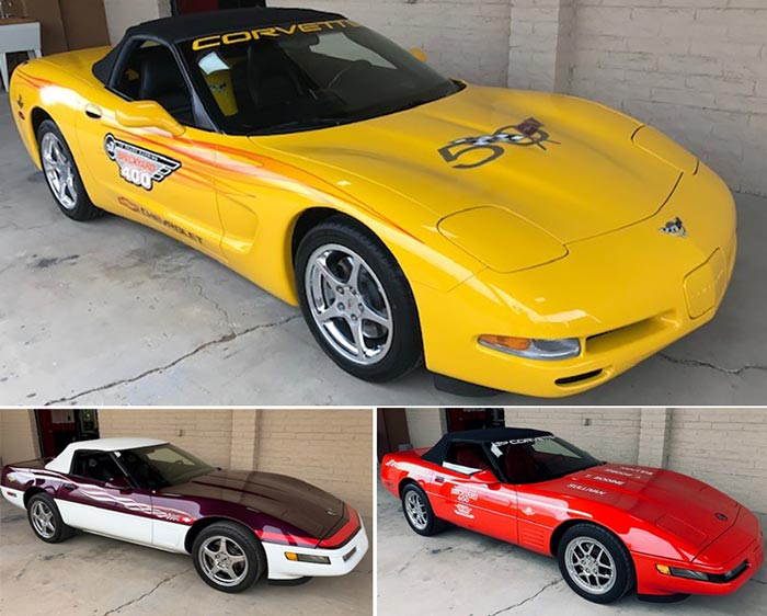 This Collection of Low Mileage Brickyard 400 Parade Cars and a Indy 500 Pace Car is Now For Sale