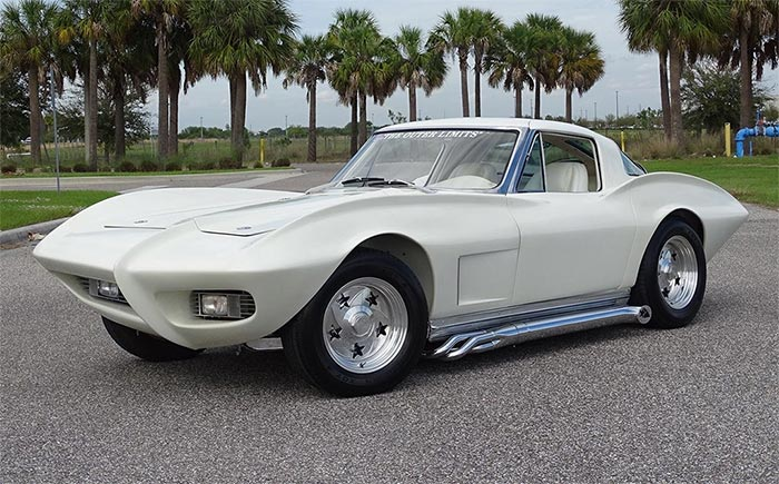 Corvettes for Sale: 1963 'Outer Limits' Corvette Show Car Offered on eBay