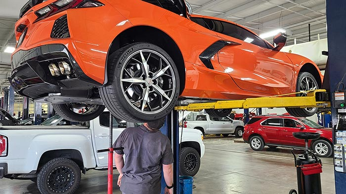 C8 Corvette Oil Change Free Only in First 12 Months