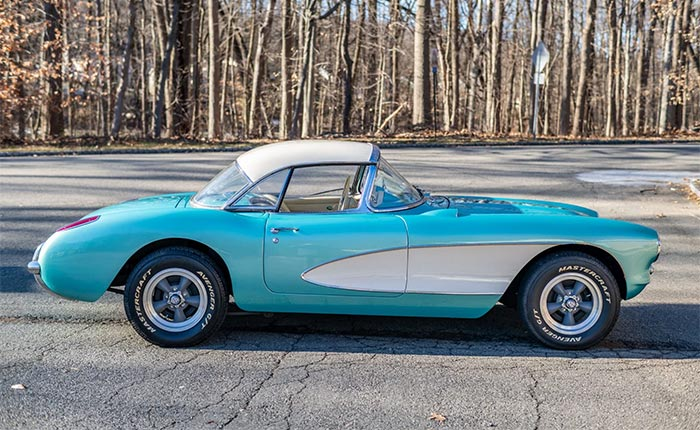 Corvettes for Sale: 59-Years-Owned 1957 Corvette on Bring A Trailer