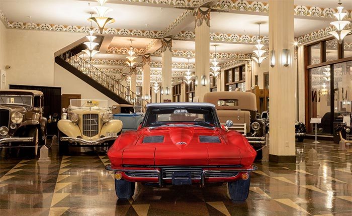 Win a 1963 Corvette Sting Ray Fuelie Convertible!