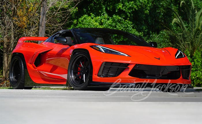 No Reserve Pandem Widebody C8 Corvette Could Be Yours at Barrett-Jackson Scottsdale