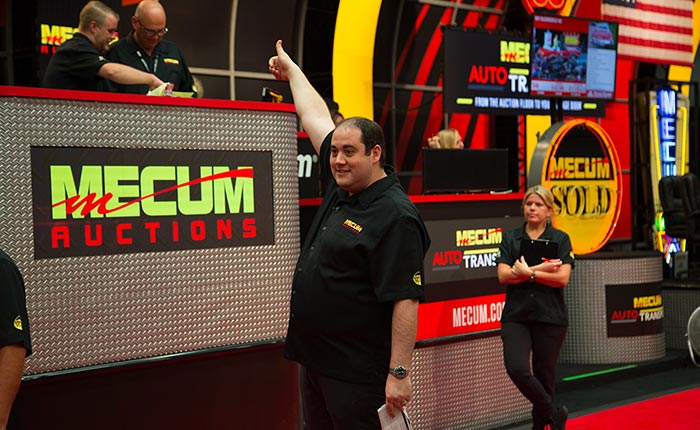 [PODCAST] Frank Mecum of Mecum Auctions is on the Corvette Today Podcast