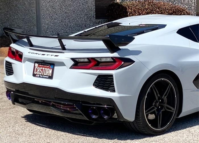 [VIDEO] Top Speed Pro1 Shares Titanium X-Pipe Exhaust Sounds from the C8 Corvette