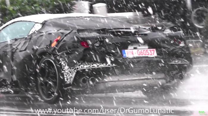 [SPIED] C8 Corvette E-Ray Prototype Testing on the German Autobahn