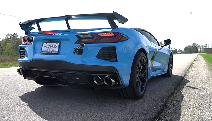 [VIDEO] First Customer C8 Corvette with CORSA's Xtreme Sound Exhaust System