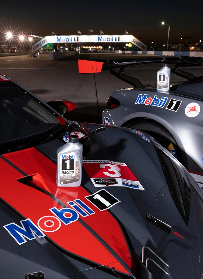 Corvette Racing at Sebring: Special Mobil 1 Livery for 12 Hours