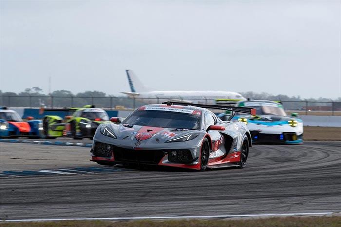 Corvette Racing at Sebring: Garcia Leads Corvette 1-2 in GTLM Qualifying