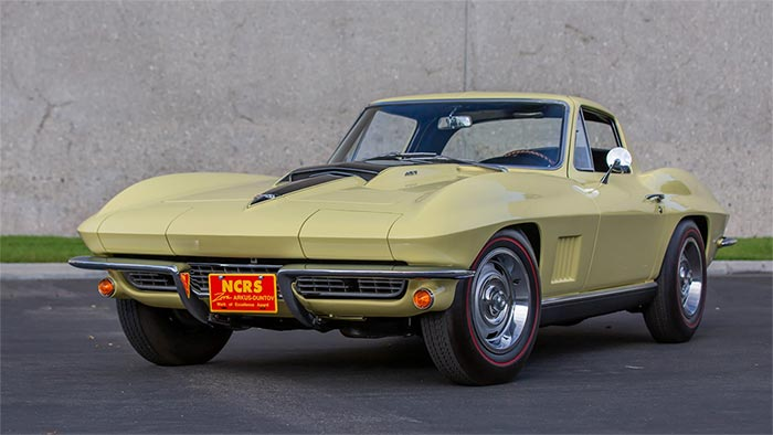 Corvette Mike's 1967 L88 Coupe up for grabs at Mecum Glendale