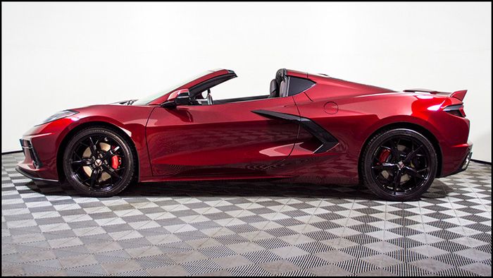 Enter to Win a Loaded 2020 Corvette Stingray Z51 Coupe in Long Beach Red
