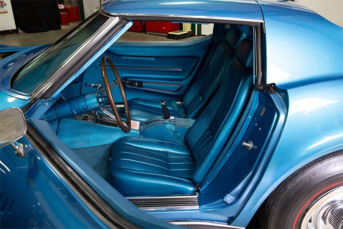 Corvettes for Sale: 1968 Lemans Blue L88 Coupe on Bring a Trailer