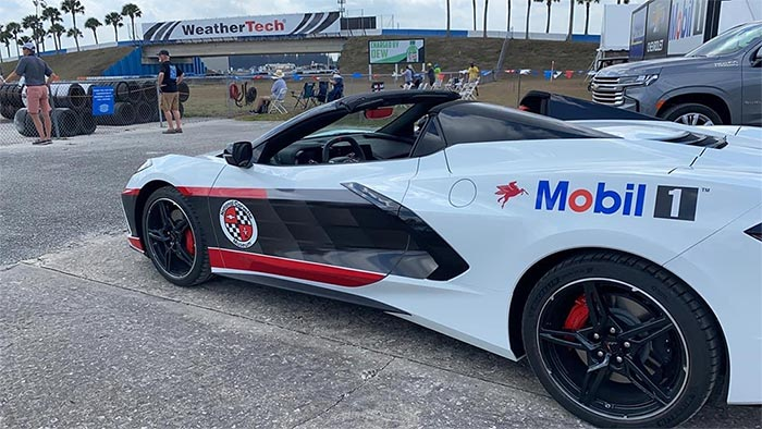 New 2021 Convertible with NCM/Mobil 1 Livery Will Promote Corvette Partnership Year Round
