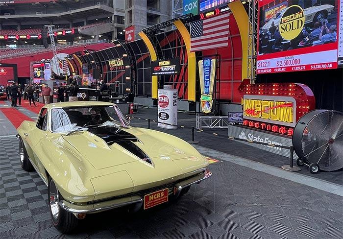 1967 Corvette L88 Coupe Sells for $2.65 Million at Mecum Glendale